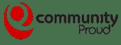 Community Proud Logo Red