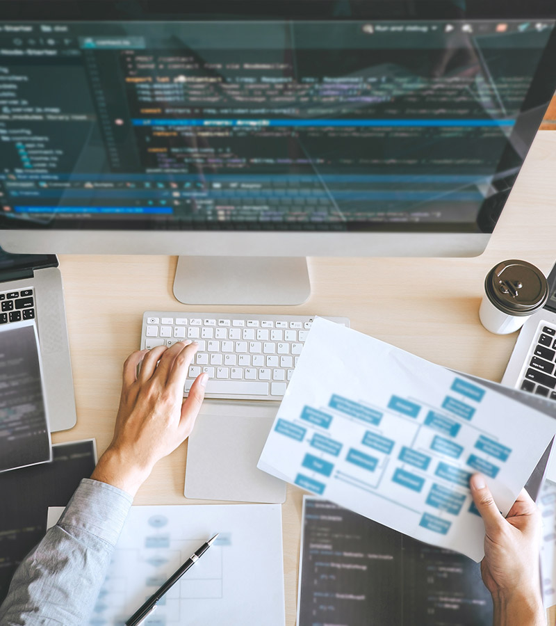 Webdesign coding and workflow design at Community Proud